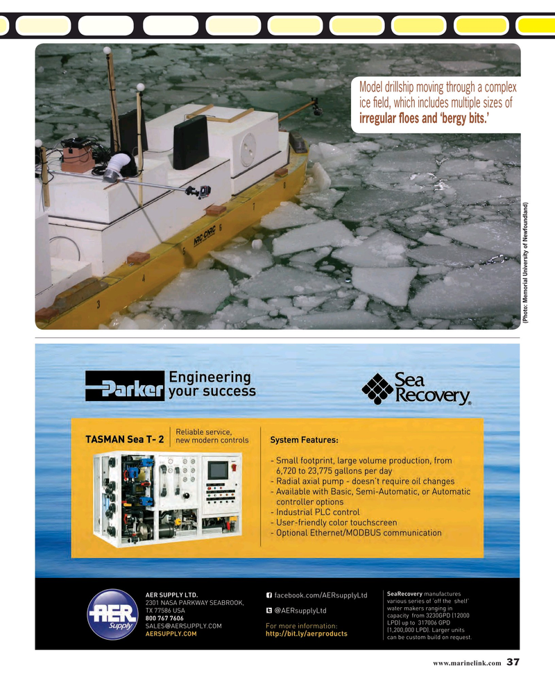 Maritime Reporter Magazine, page 37,  Mar 2016