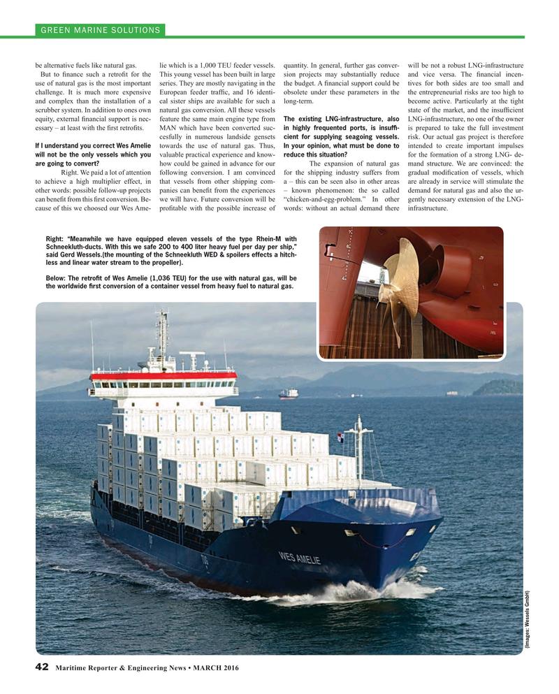 Maritime Reporter Magazine, page 42,  Mar 2016