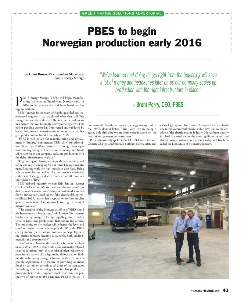 Maritime Reporter Magazine, page 43,  Mar 2016