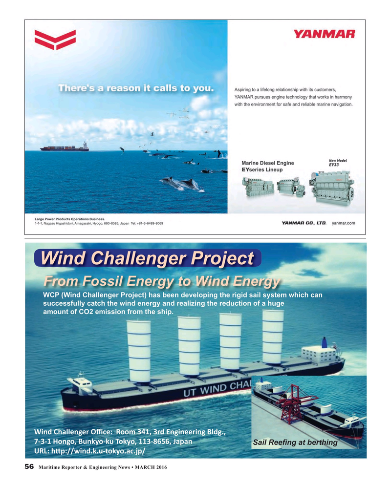 Maritime Reporter Magazine, page 56,  Mar 2016