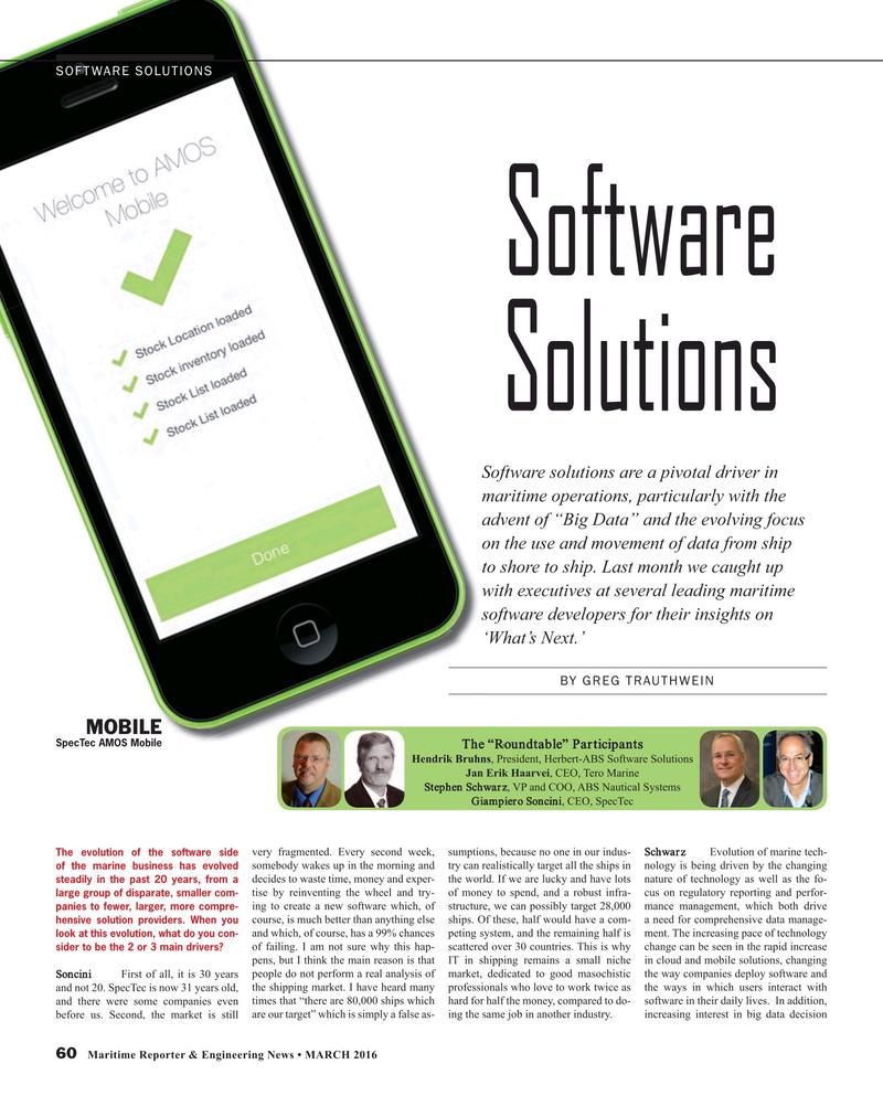 Maritime Reporter Magazine, page 60,  Mar 2016