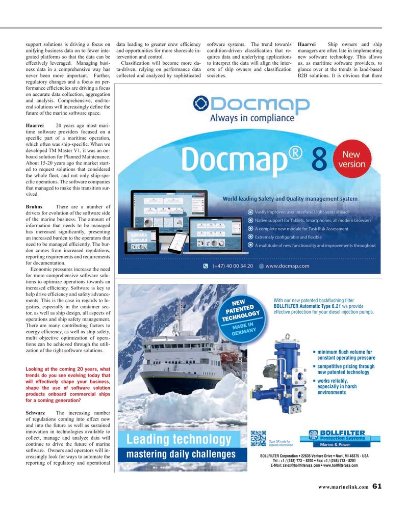 Maritime Reporter Magazine, page 61,  Mar 2016