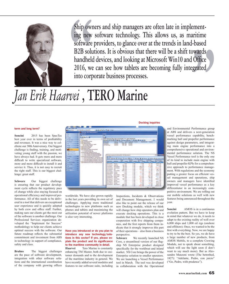 Maritime Reporter Magazine, page 65,  Mar 2016
