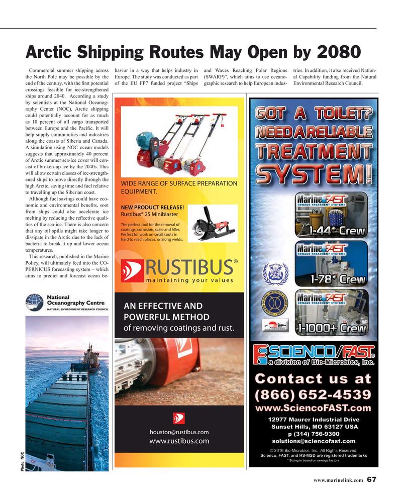 Maritime Reporter Magazine, page 67,  Mar 2016