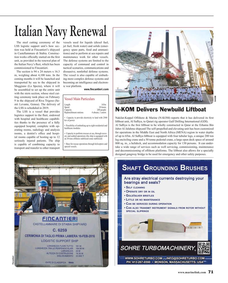Maritime Reporter Magazine, page 71,  Mar 2016