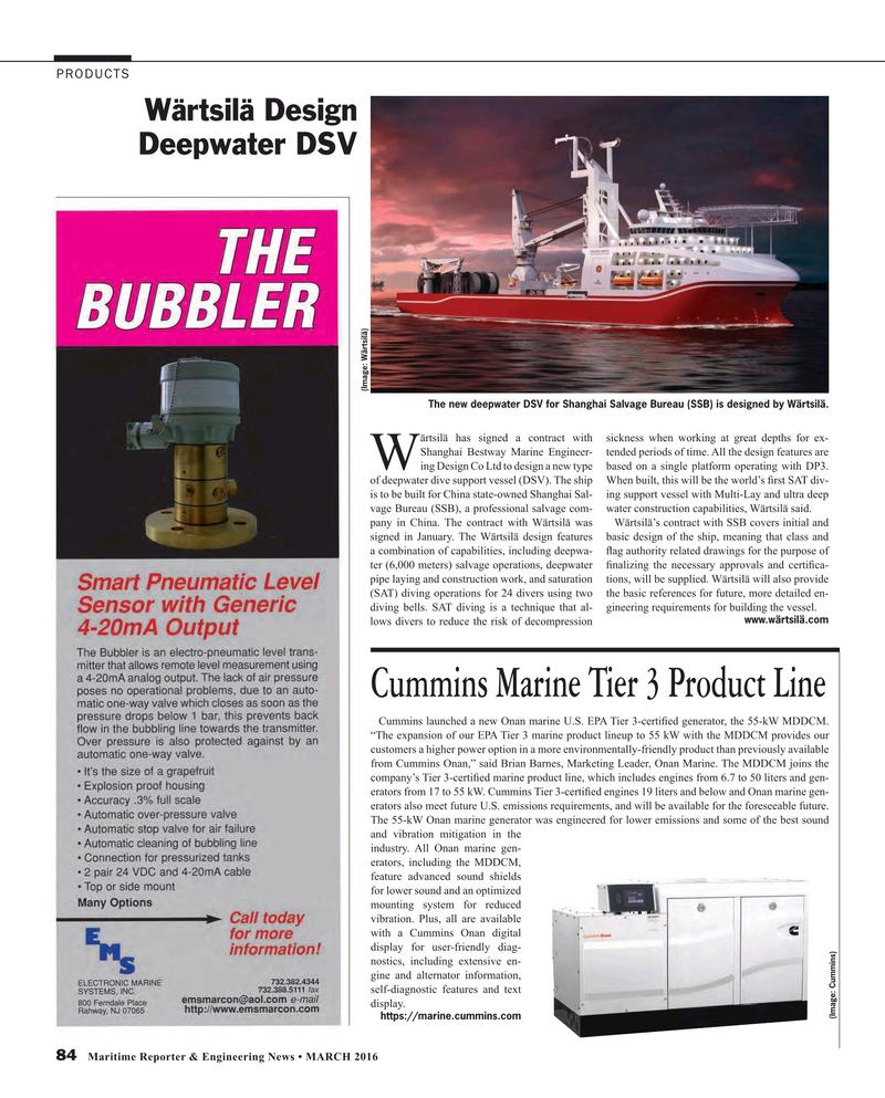 Maritime Reporter Magazine, page 84,  Mar 2016