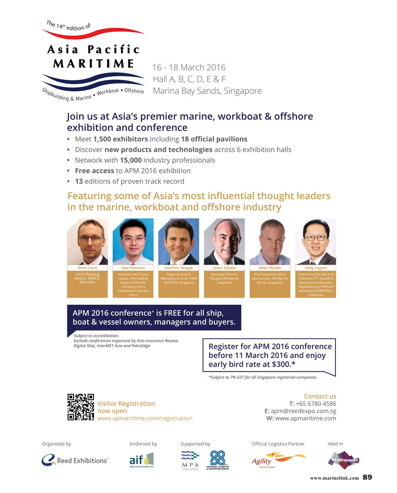 Maritime Reporter Magazine, page 89,  Mar 2016