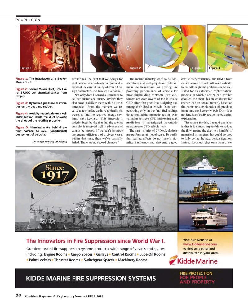 Maritime Reporter Magazine, page 22,  Apr 2016