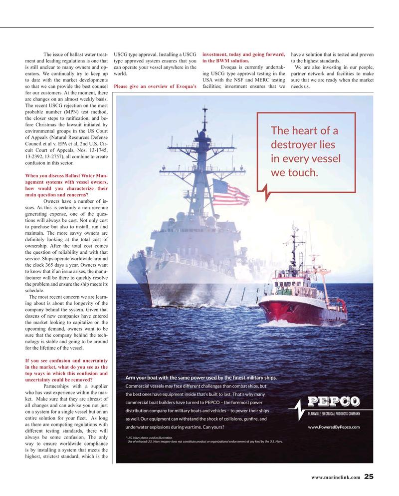 Maritime Reporter Magazine, page 25,  Apr 2016