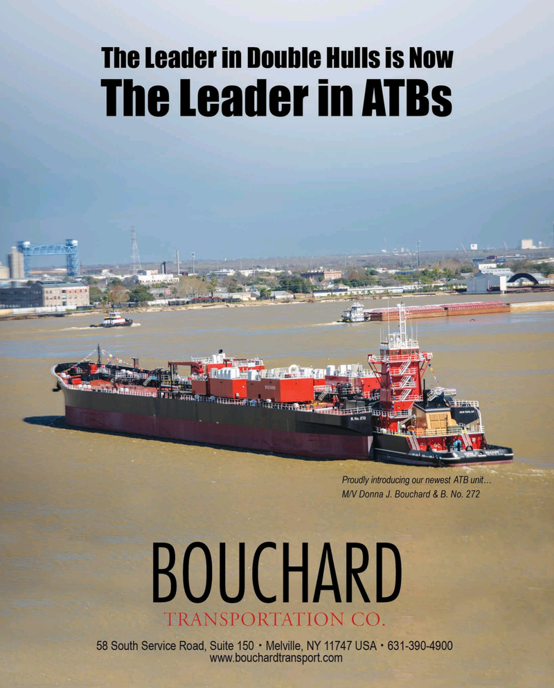 Maritime Reporter Magazine, page 1,  Apr 2016