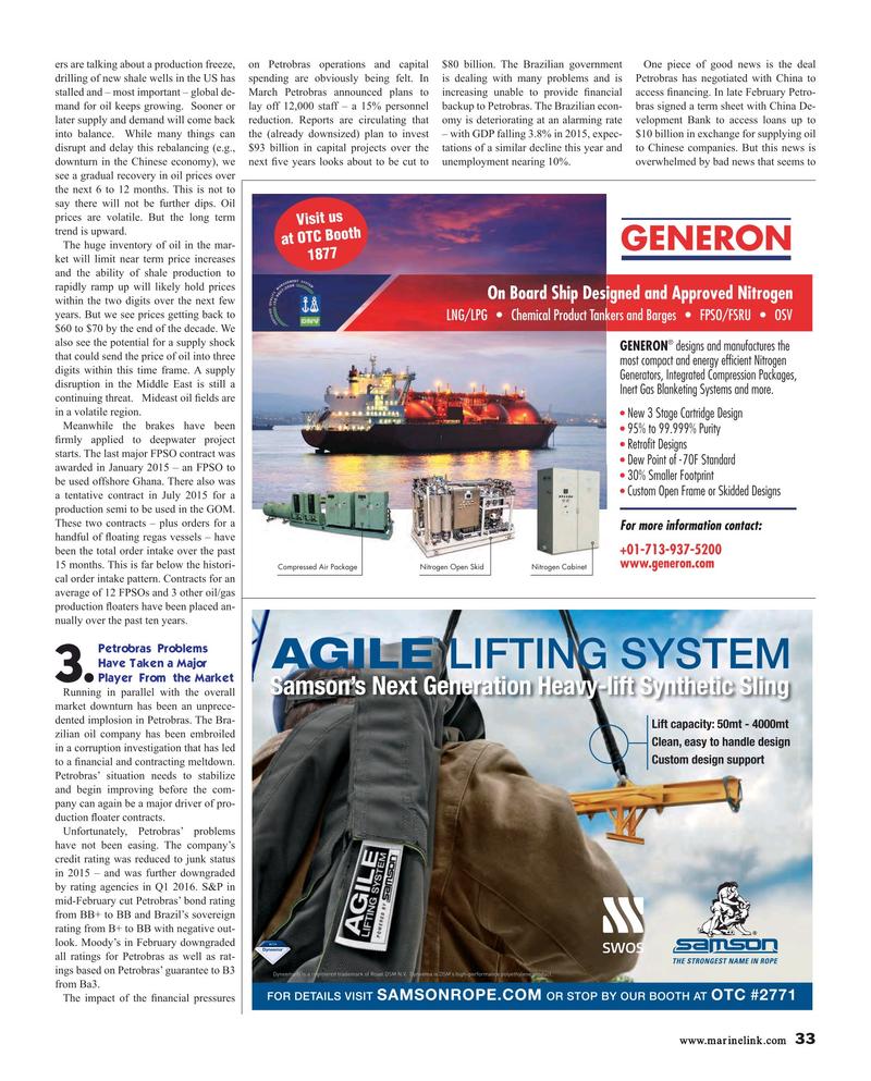 Maritime Reporter Magazine, page 33,  Apr 2016