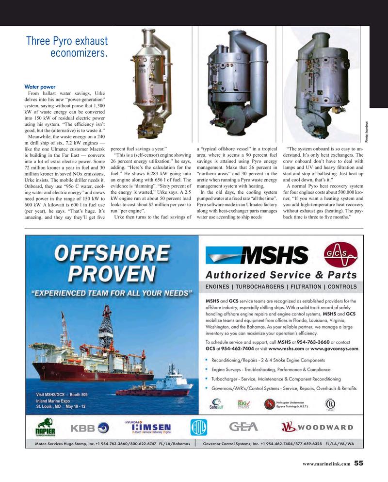 Maritime Reporter Magazine, page 55,  Apr 2016