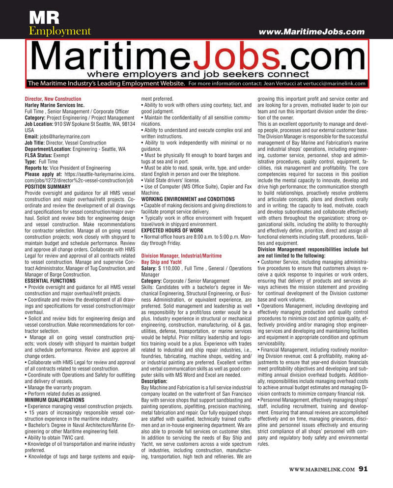 Maritime Reporter Magazine, page 91,  Apr 2016