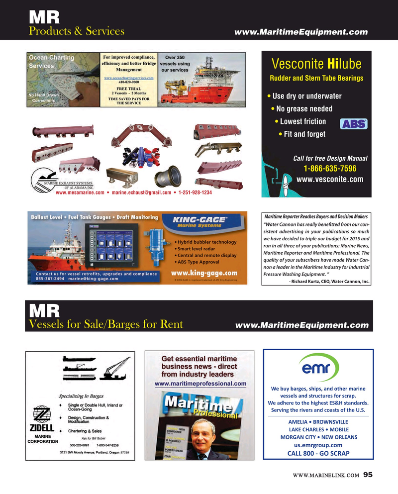 Maritime Reporter Magazine, page 95,  Apr 2016