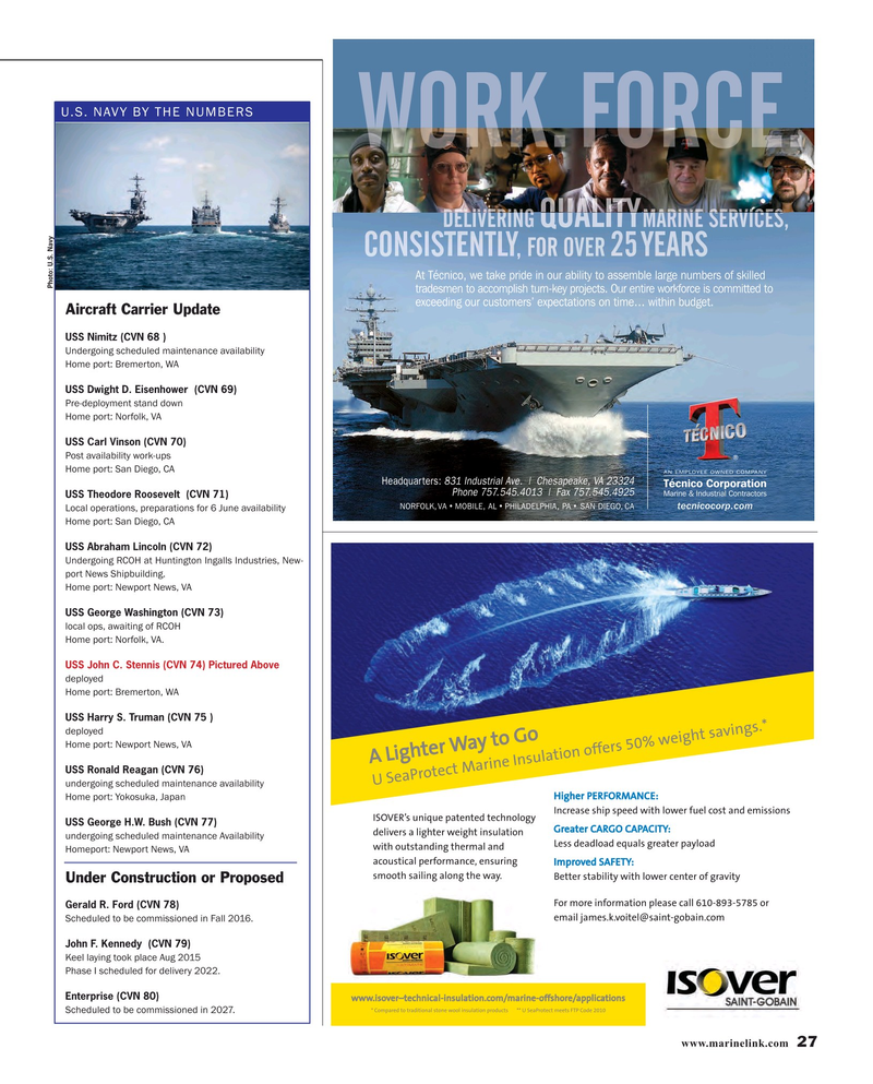 Maritime Reporter Magazine, page 27,  Jun 2016