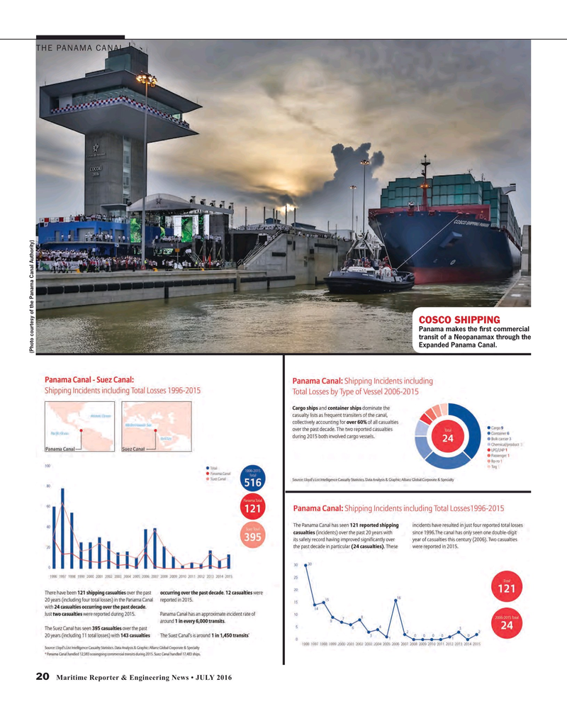 Maritime Reporter Magazine, page 20,  Jul 2016