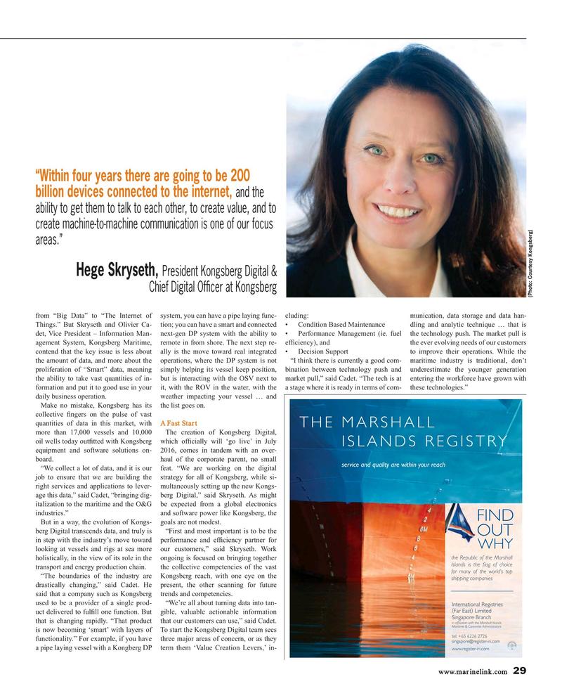 Maritime Reporter Magazine, page 29,  Jul 2016