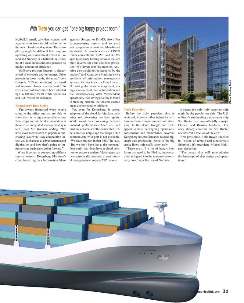 Maritime Reporter Magazine, page 31,  Jul 2016
