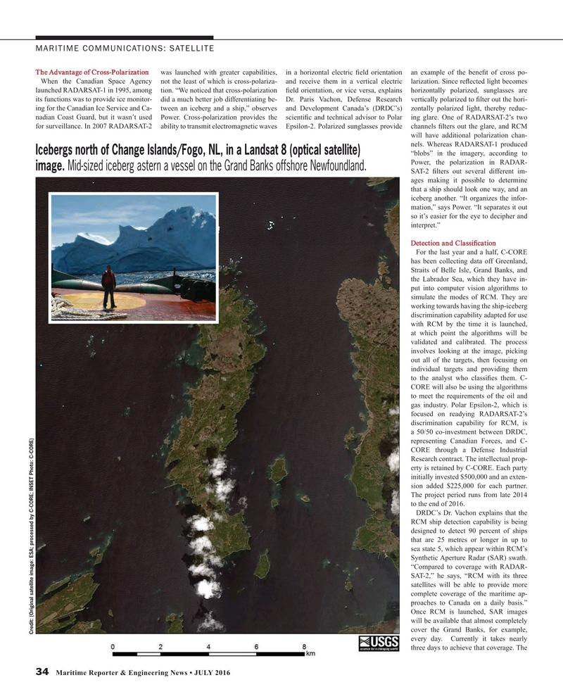 Maritime Reporter Magazine, page 34,  Jul 2016
