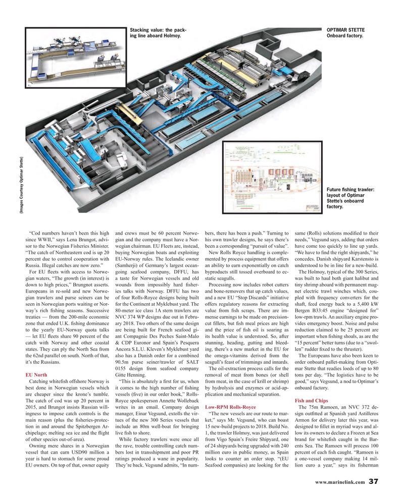 Maritime Reporter Magazine, page 37,  Jul 2016