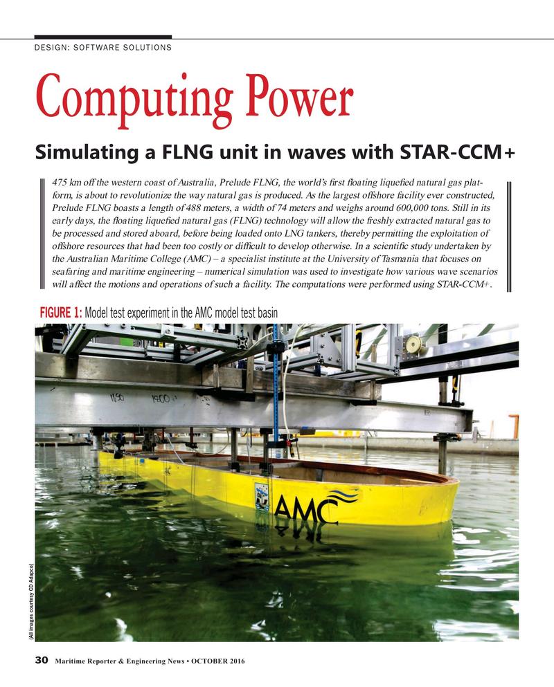 Maritime Reporter Magazine, page 30,  Oct 2016