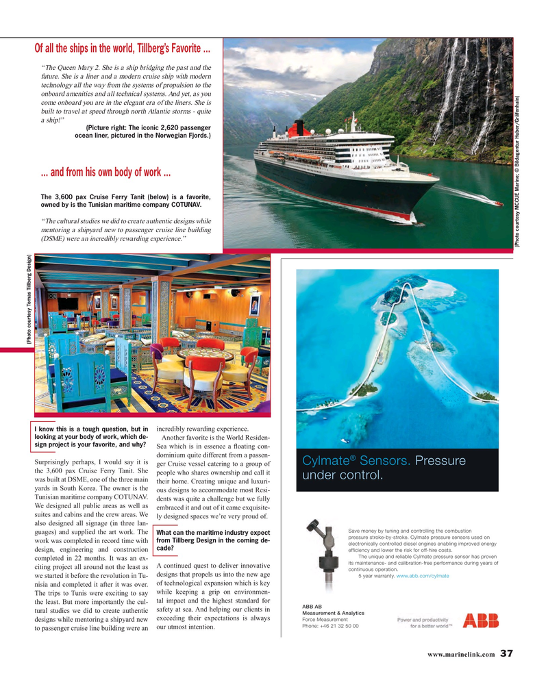 Maritime Reporter Magazine, page 37,  Oct 2016