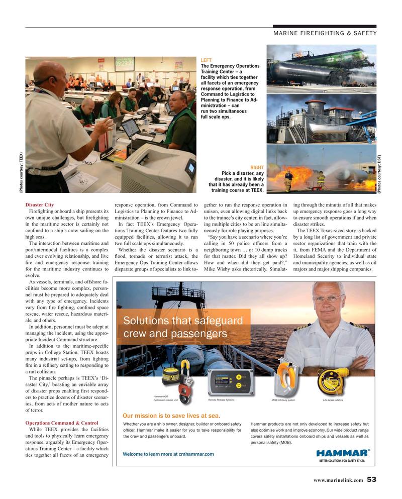 Maritime Reporter Magazine, page 53,  Oct 2016