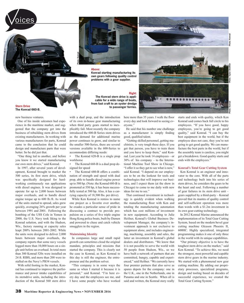 Maritime Reporter Magazine, page 38,  Nov 2016