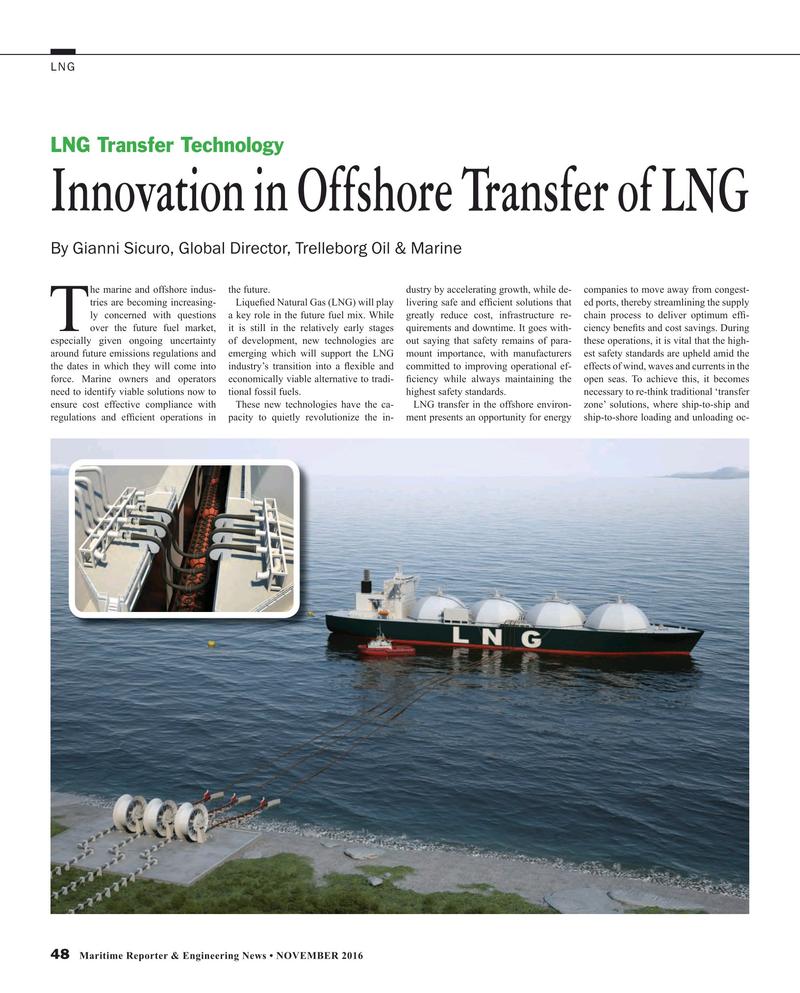 Maritime Reporter Magazine, page 48,  Nov 2016