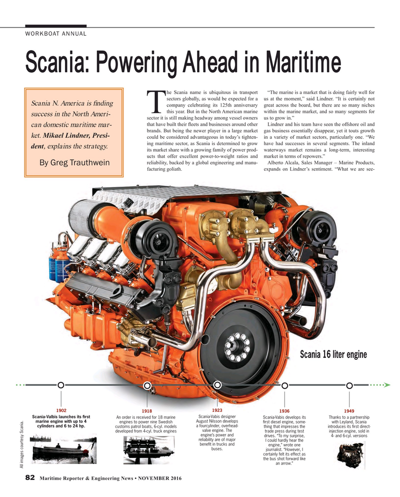 Maritime Reporter Magazine, page 82,  Nov 2016