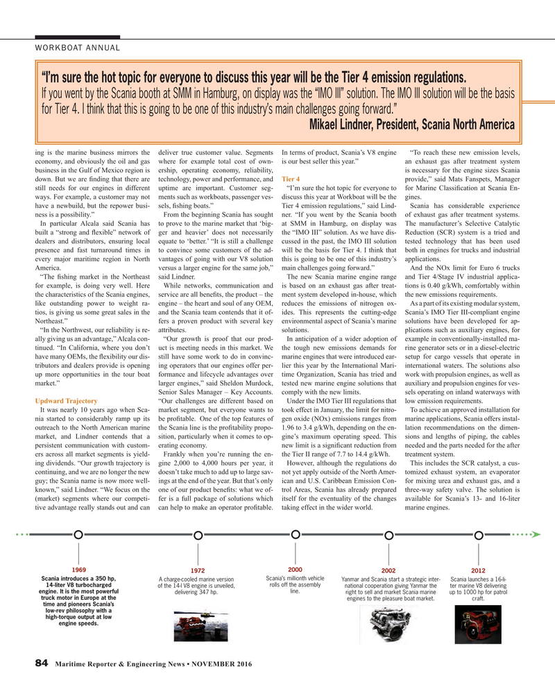 Maritime Reporter Magazine, page 84,  Nov 2016