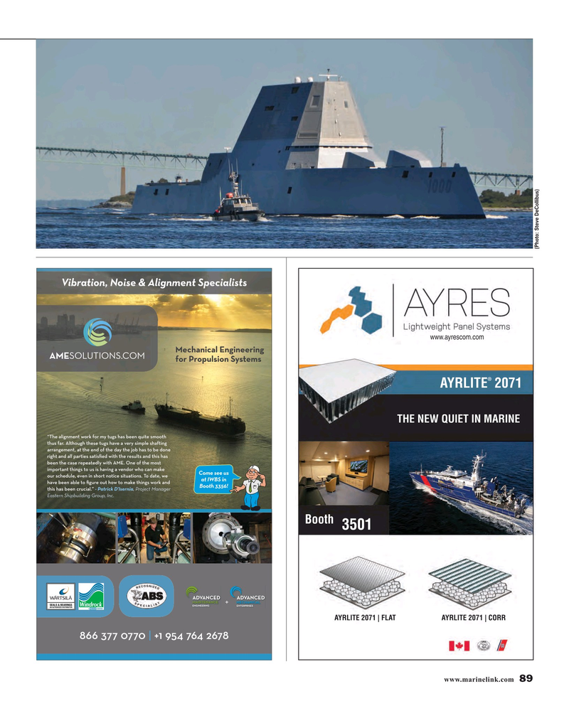 Maritime Reporter Magazine, page 89,  Nov 2016