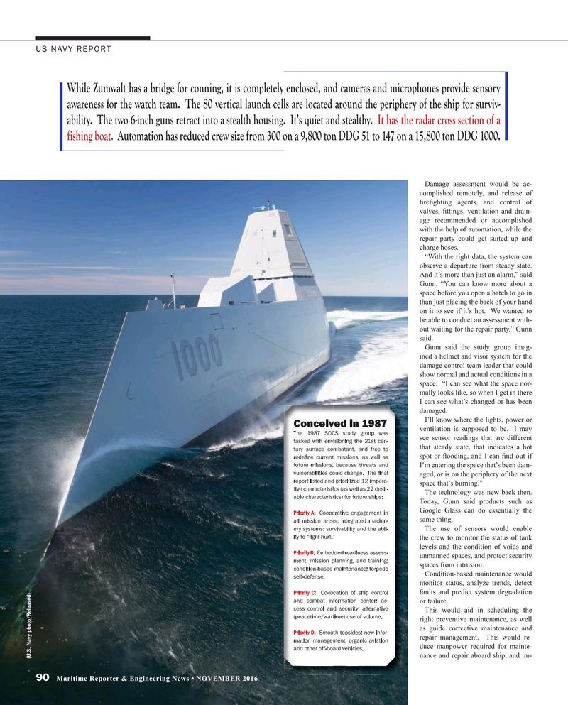 Maritime Reporter Magazine, page 90,  Nov 2016