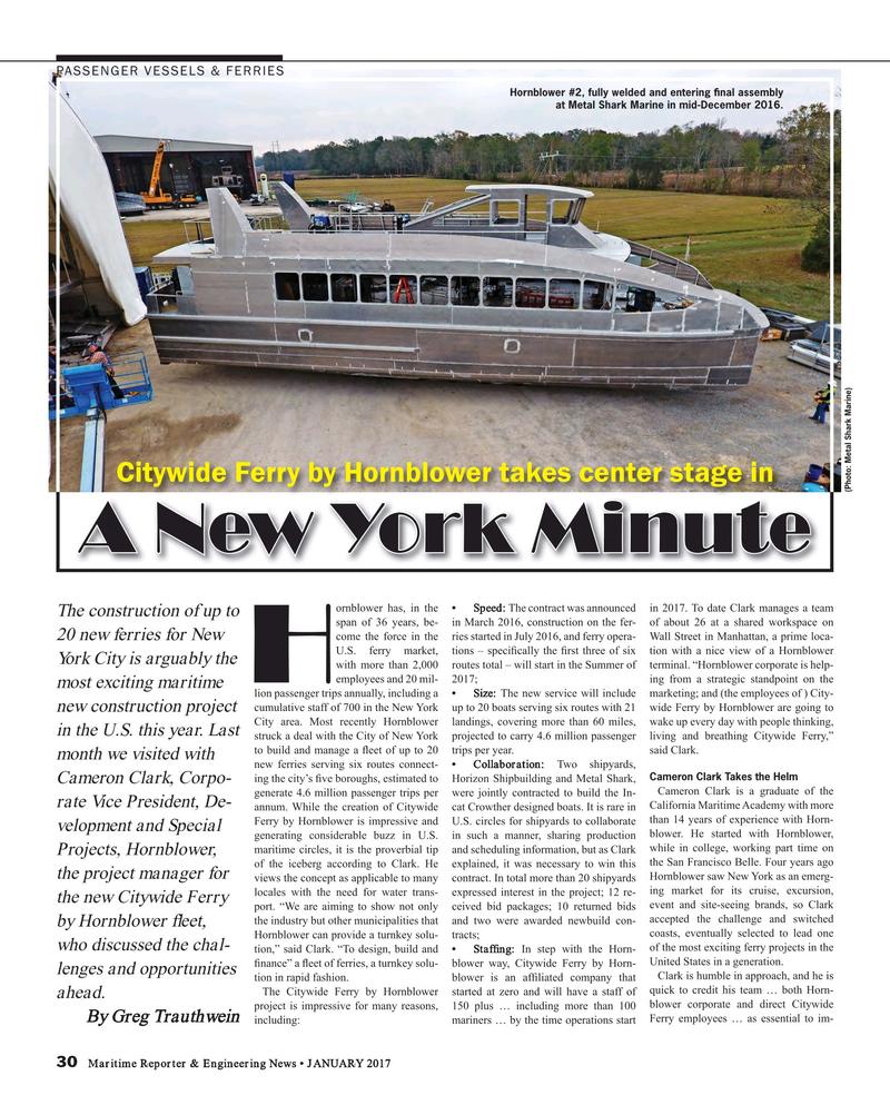 Maritime Reporter Magazine, page 30,  Jan 2017