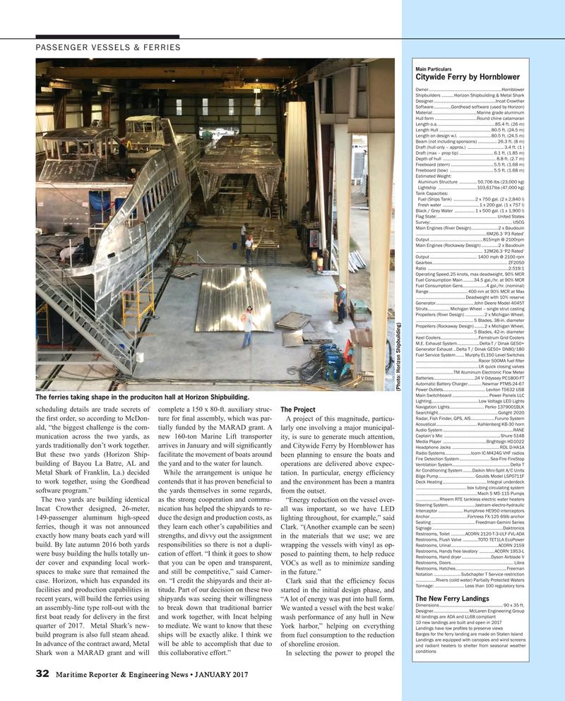 Maritime Reporter Magazine, page 32,  Jan 2017