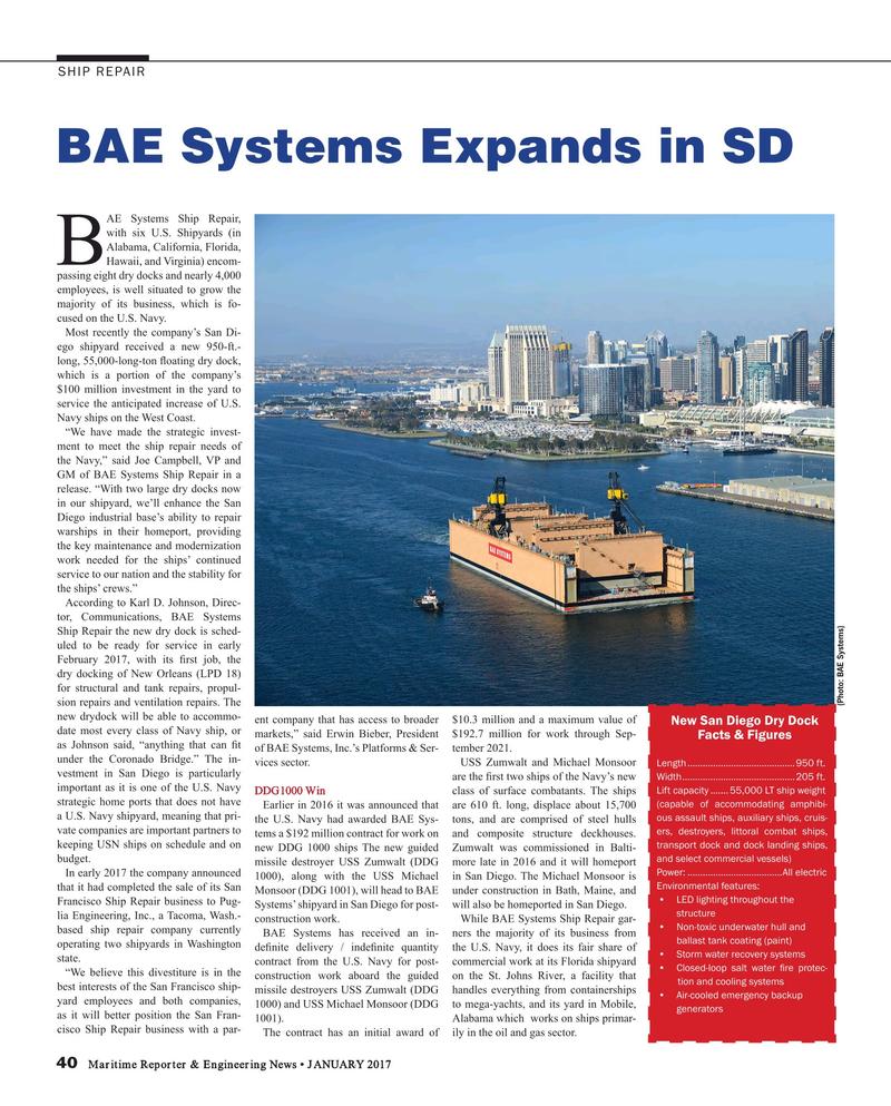 Maritime Reporter Magazine, page 40,  Jan 2017