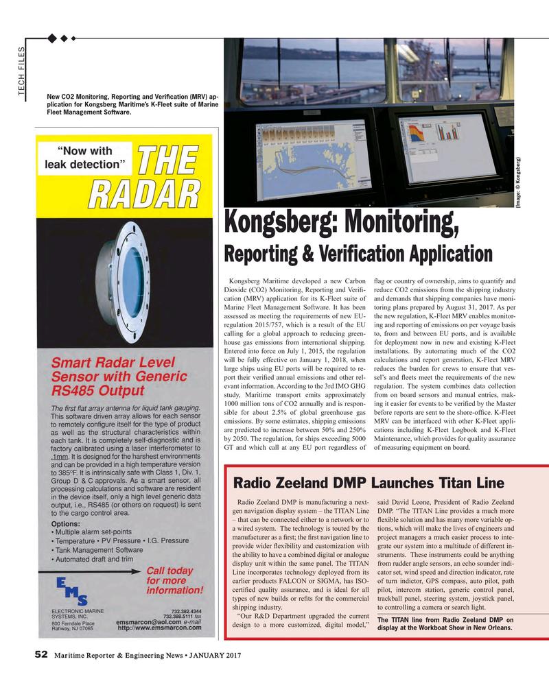 Maritime Reporter Magazine, page 52,  Jan 2017