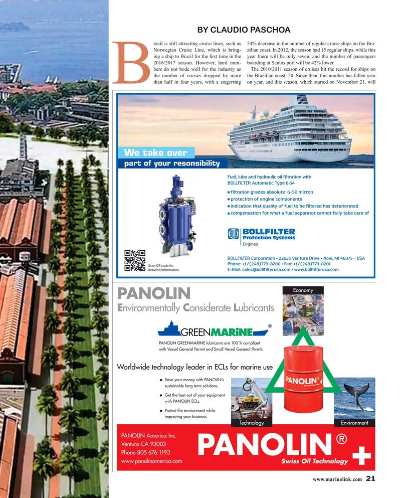 Maritime Reporter Magazine, page 21,  Feb 2017