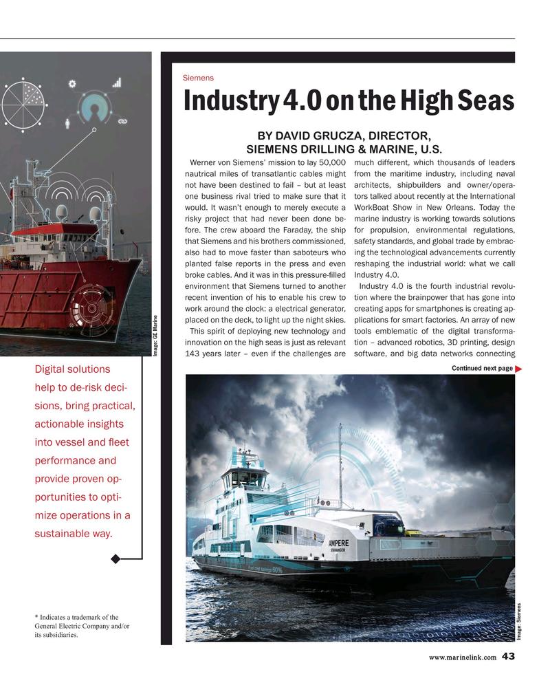 Maritime Reporter Magazine, page 43,  Feb 2017