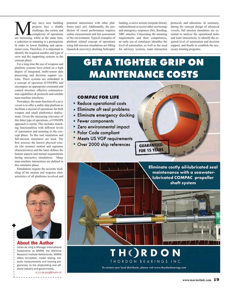 Maritime Reporter Magazine, page 19,  Mar 2017