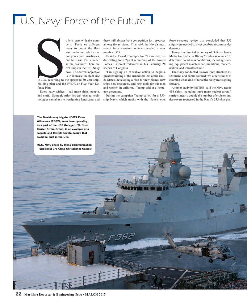 Maritime Reporter Magazine, page 22,  Mar 2017