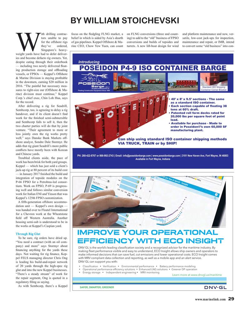 Maritime Reporter Magazine, page 29,  Mar 2017