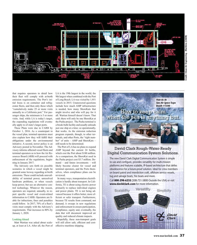 Maritime Reporter Magazine, page 37,  Mar 2017
