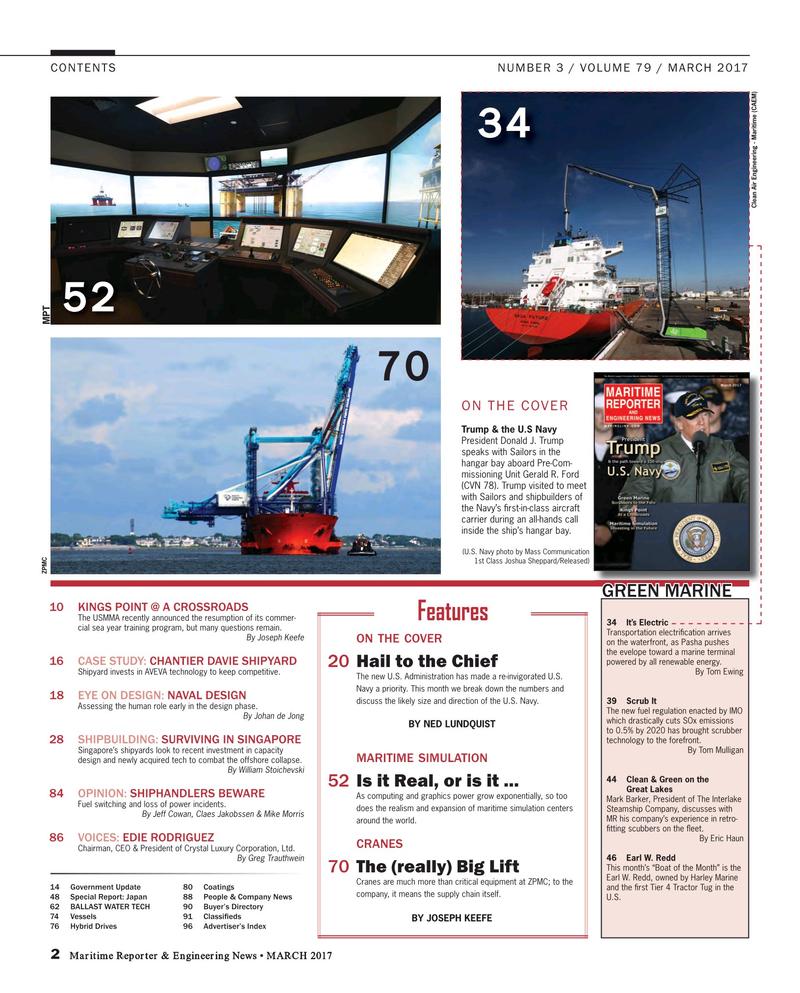 Maritime Reporter Magazine, page 2,  Mar 2017