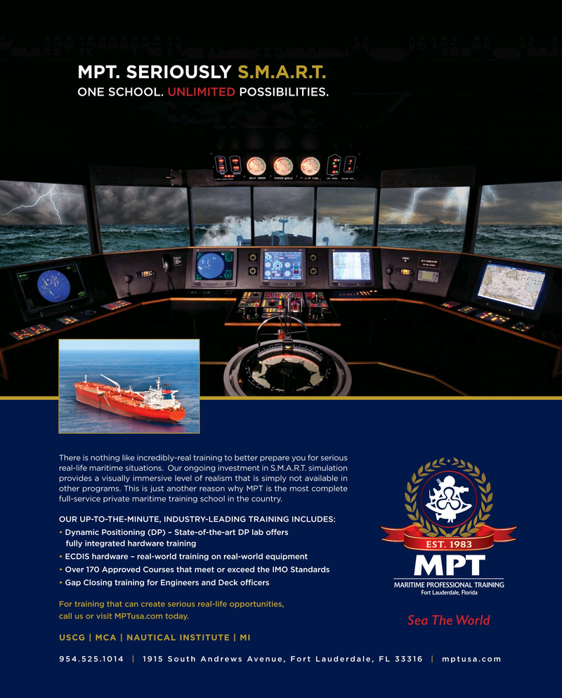 Maritime Reporter Magazine, page 55,  Mar 2017