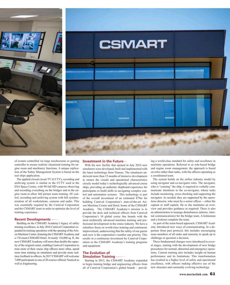 Maritime Reporter Magazine, page 61,  Mar 2017