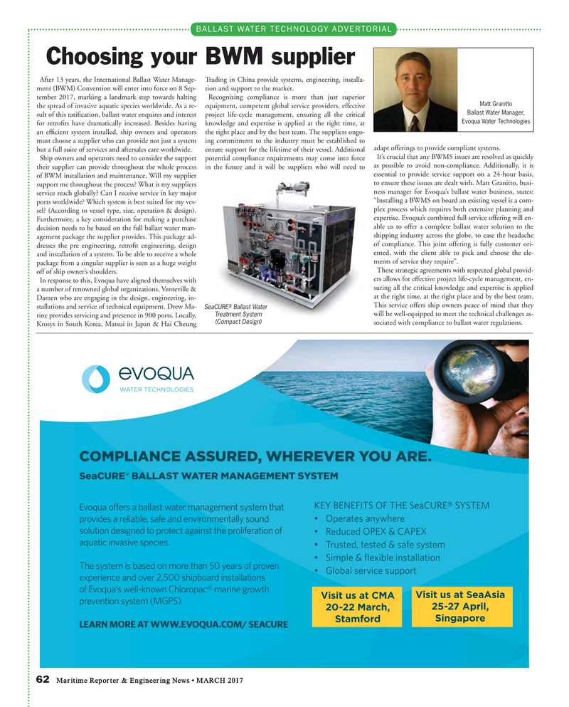 Maritime Reporter Magazine, page 62,  Mar 2017