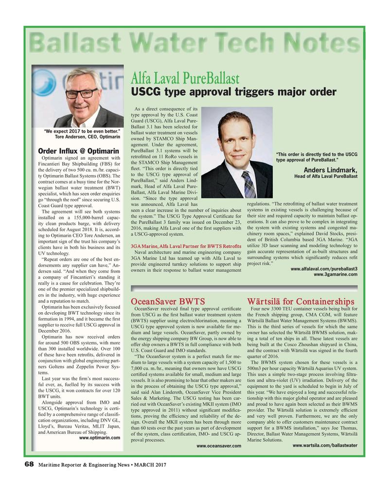 Maritime Reporter Magazine, page 68,  Mar 2017