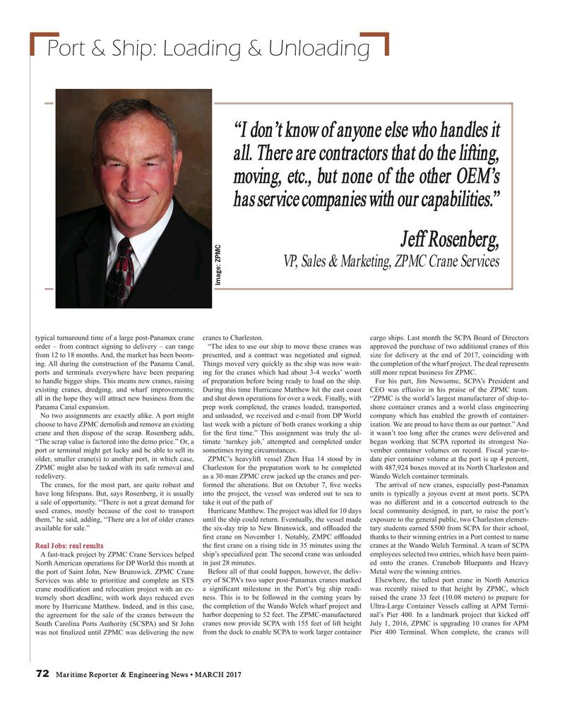 Maritime Reporter Magazine, page 72,  Mar 2017