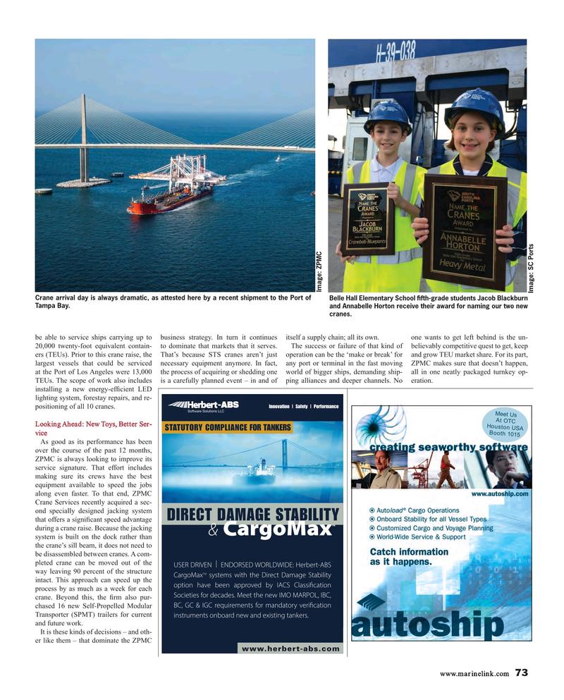 Maritime Reporter Magazine, page 73,  Mar 2017